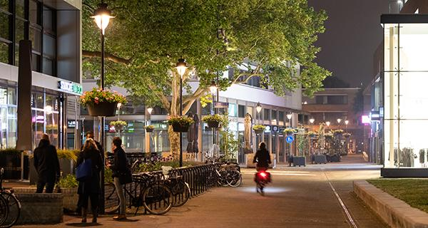 Schréder has extensive experience in lighting cycle parking ranks so users feel secure