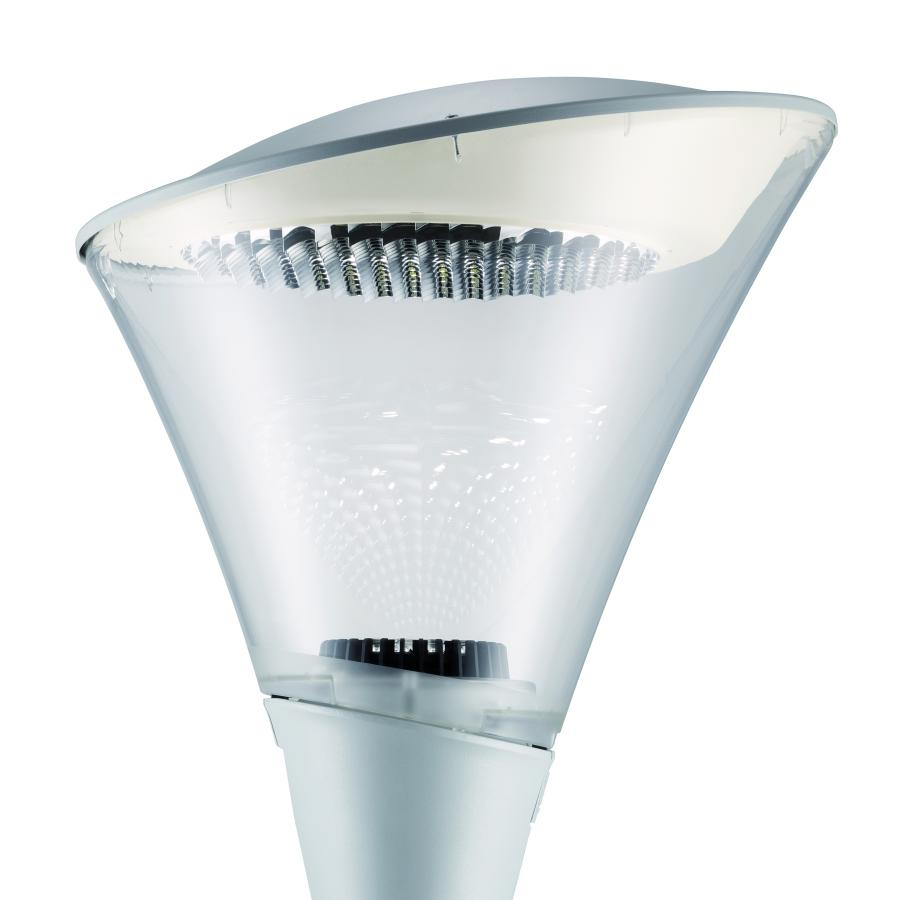 Calla LED can be supplied pre-wired to facilitate installation. It also has tool-free access for easy maintenance.